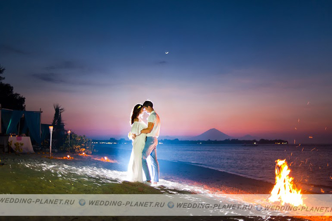 Flawless bali wedding