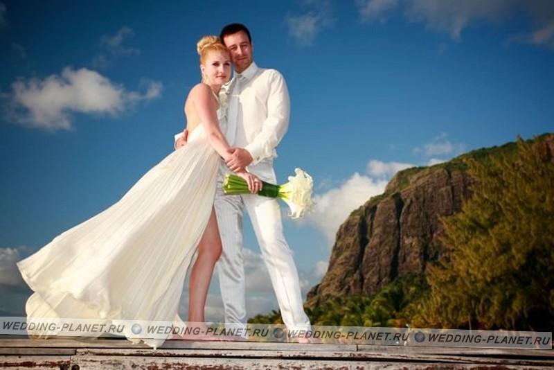 Свадьба на острове маврикий